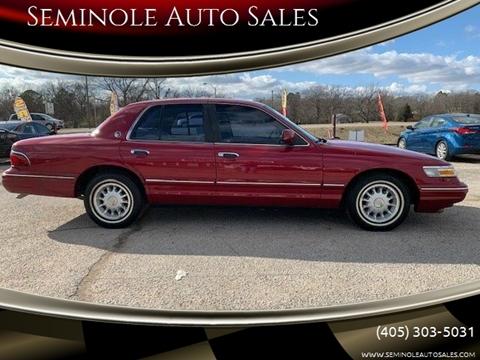 1995 Mercury Grand Marquis for sale at Seminole Auto Sales in Seminole OK