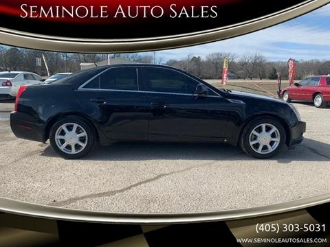 2008 Cadillac CTS for sale at Seminole Auto Sales in Seminole OK