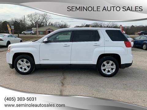 2012 GMC Terrain for sale at Seminole Auto Sales in Seminole OK