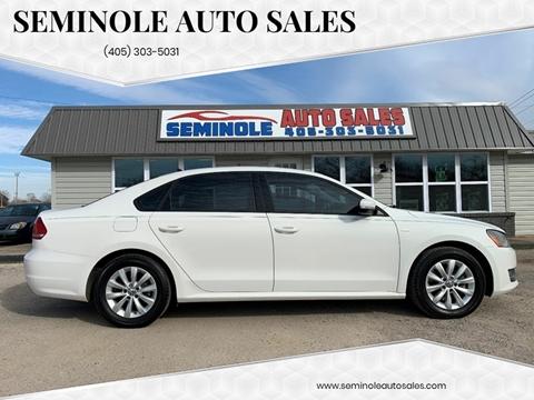 2015 Volkswagen Passat for sale at Seminole Auto Sales in Seminole OK