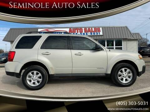 2008 Mazda Tribute for sale at Seminole Auto Sales in Seminole OK