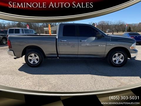 2010 Dodge Ram Pickup 1500 for sale at Seminole Auto Sales in Seminole OK