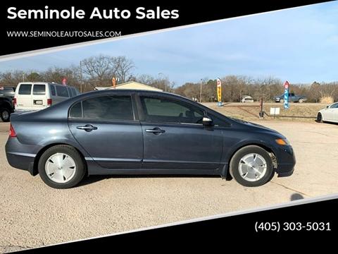 2007 Honda Civic for sale at Seminole Auto Sales in Seminole OK