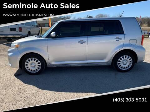2015 Scion xB for sale at Seminole Auto Sales in Seminole OK
