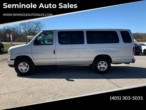 2011 Ford E-Series Wagon for sale at Seminole Auto Sales in Seminole OK
