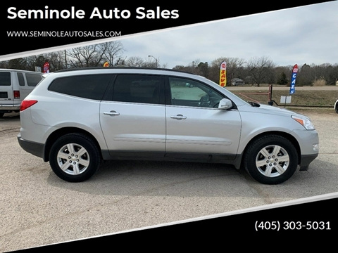 2012 Chevrolet Traverse for sale at Seminole Auto Sales in Seminole OK