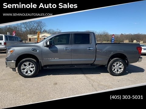 2017 Nissan Titan XD for sale at Seminole Auto Sales in Seminole OK