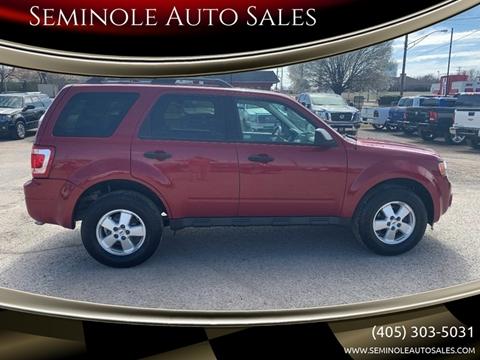 2010 Ford Escape for sale at Seminole Auto Sales in Seminole OK