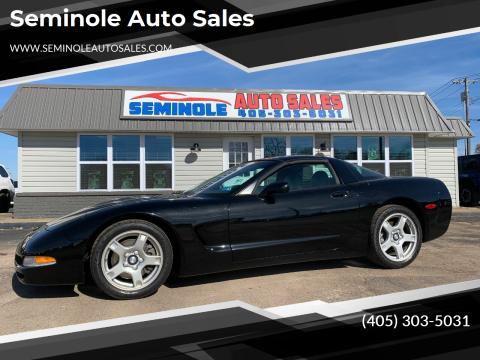 1997 Chevrolet Corvette for sale at Seminole Auto Sales in Seminole OK