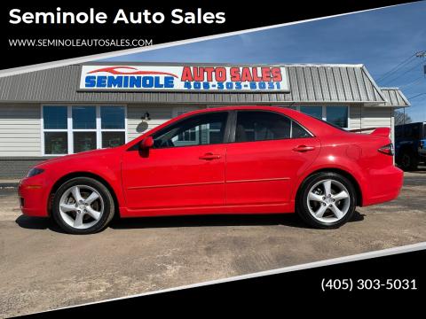 2008 Mazda MAZDA6 for sale at Seminole Auto Sales in Seminole OK