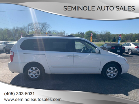 2006 Kia Sedona for sale at Seminole Auto Sales in Seminole OK