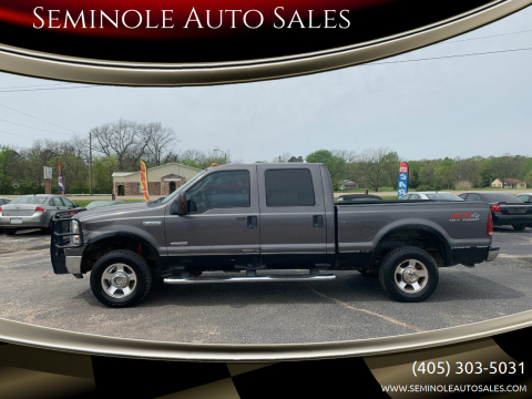 2006 Ford F-250 Super Duty for sale at Seminole Auto Sales in Seminole OK