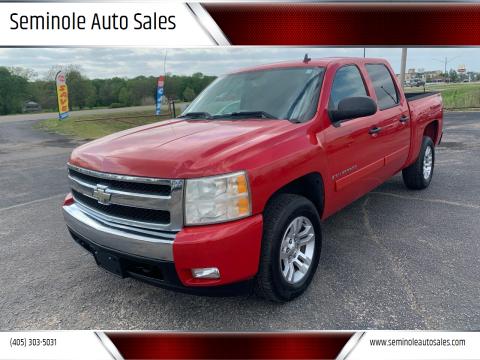2007 Chevrolet Silverado 1500 for sale at Seminole Auto Sales in Seminole OK