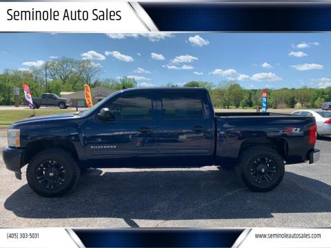 2011 Chevrolet Silverado 1500 for sale at Seminole Auto Sales in Seminole OK