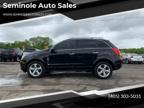 2015 Chevrolet Captiva Sport for sale at Seminole Auto Sales in Seminole OK