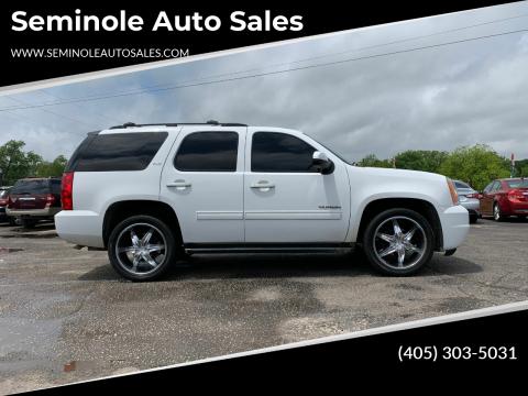 2013 GMC Yukon for sale at Seminole Auto Sales in Seminole OK