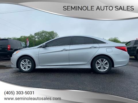 2014 Hyundai Sonata for sale at Seminole Auto Sales in Seminole OK
