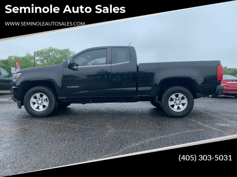 2016 Chevrolet Colorado for sale at Seminole Auto Sales in Seminole OK