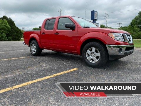 2009 Nissan Frontier for sale at Seminole Auto Sales in Seminole OK