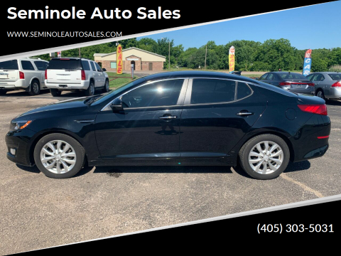 2015 Kia Optima for sale at Seminole Auto Sales in Seminole OK