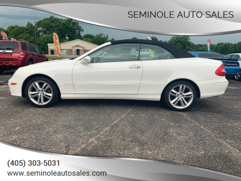 2006 Mercedes-Benz CLK for sale at Seminole Auto Sales in Seminole OK
