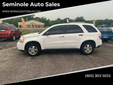 2008 Chevrolet Equinox for sale at Seminole Auto Sales in Seminole OK