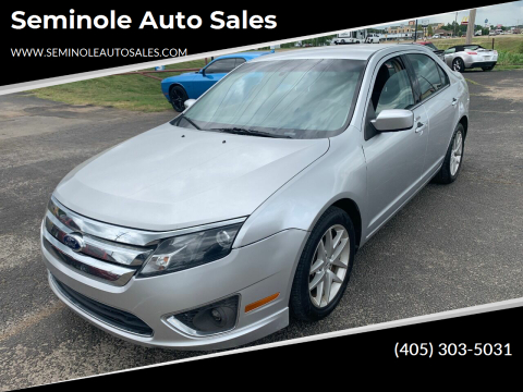 2011 Ford Fusion for sale at Seminole Auto Sales in Seminole OK