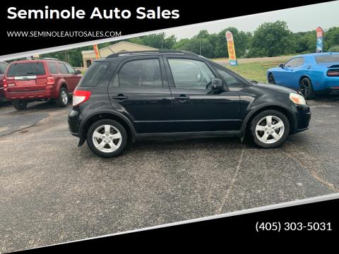 2011 Suzuki SX4 Crossover for sale at Seminole Auto Sales in Seminole OK