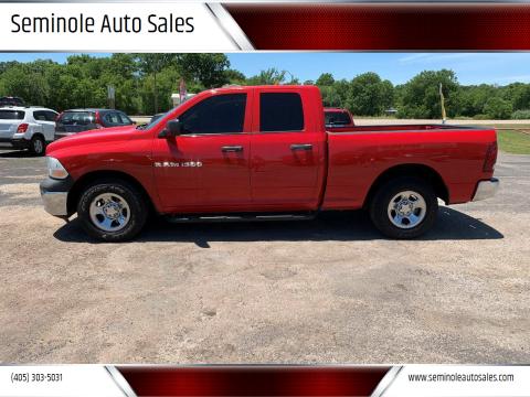 2011 RAM Ram Pickup 1500 for sale at Seminole Auto Sales in Seminole OK