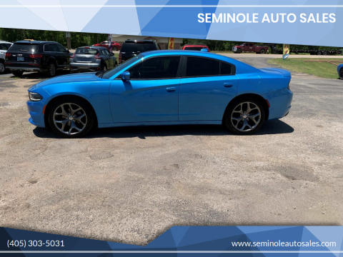 2015 Dodge Charger for sale at Seminole Auto Sales in Seminole OK