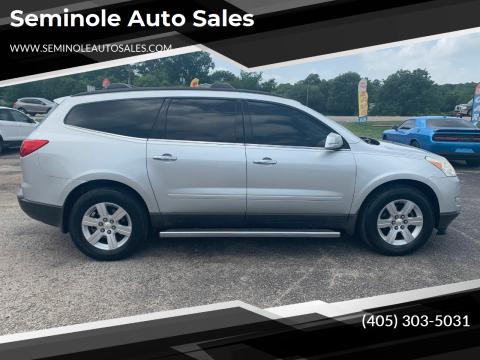 2011 Chevrolet Traverse for sale at Seminole Auto Sales in Seminole OK