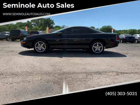 2000 Chevrolet Camaro for sale at Seminole Auto Sales in Seminole OK