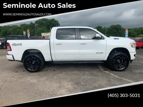 2020 RAM Ram Pickup 1500 for sale at Seminole Auto Sales in Seminole OK