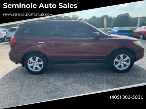2009 Hyundai Santa Fe for sale at Seminole Auto Sales in Seminole OK