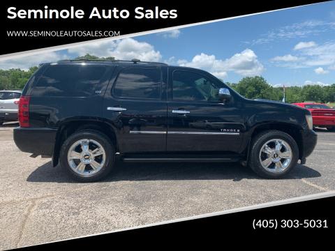 2009 Chevrolet Tahoe for sale at Seminole Auto Sales in Seminole OK