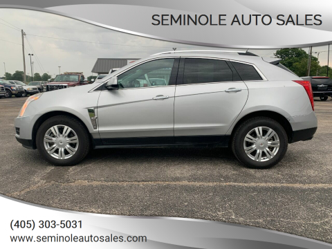 2012 Cadillac SRX for sale at Seminole Auto Sales in Seminole OK