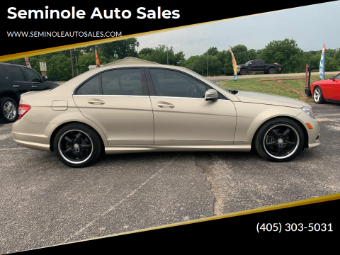 2010 Mercedes-Benz C-Class for sale at Seminole Auto Sales in Seminole OK