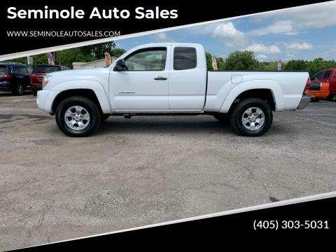 2005 Toyota Tacoma for sale at Seminole Auto Sales in Seminole OK