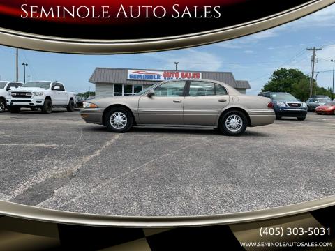 2002 Buick LeSabre for sale at Seminole Auto Sales in Seminole OK