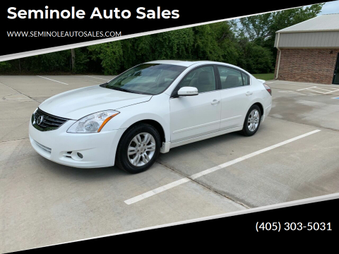 2011 Nissan Altima for sale at Seminole Auto Sales in Seminole OK