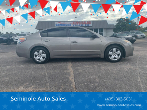2007 Nissan Altima for sale at Seminole Auto Sales in Seminole OK