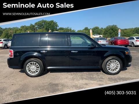 2018 Ford Flex for sale at Seminole Auto Sales in Seminole OK