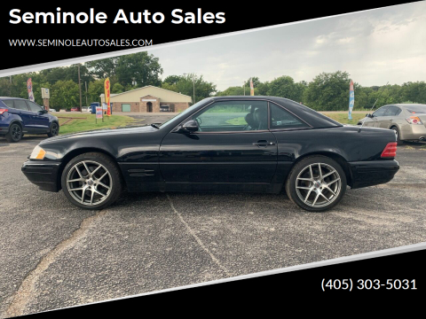 1999 Mercedes-Benz SL-Class for sale at Seminole Auto Sales in Seminole OK