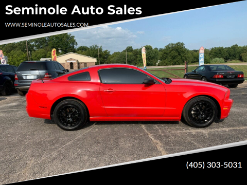 2014 Ford Mustang for sale at Seminole Auto Sales in Seminole OK