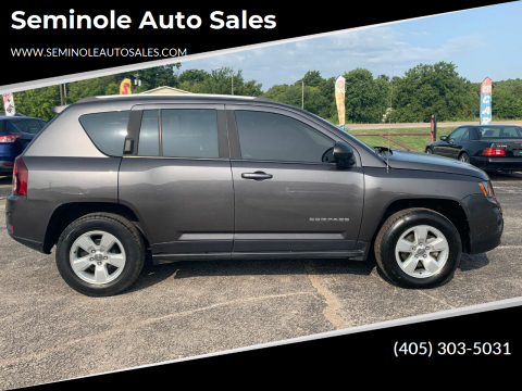 2016 Jeep Compass for sale at Seminole Auto Sales in Seminole OK
