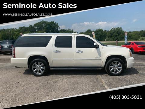 2011 GMC Yukon XL for sale at Seminole Auto Sales in Seminole OK