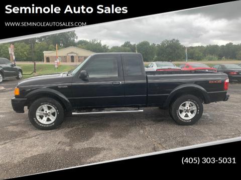 2005 Ford Ranger for sale at Seminole Auto Sales in Seminole OK