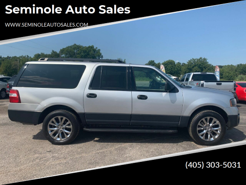 2016 Ford Expedition EL for sale at Seminole Auto Sales in Seminole OK