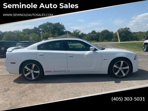 2014 Dodge Charger for sale at Seminole Auto Sales in Seminole OK