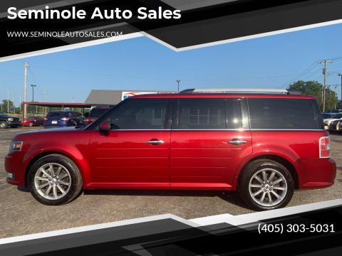 2014 Ford Flex for sale at Seminole Auto Sales in Seminole OK